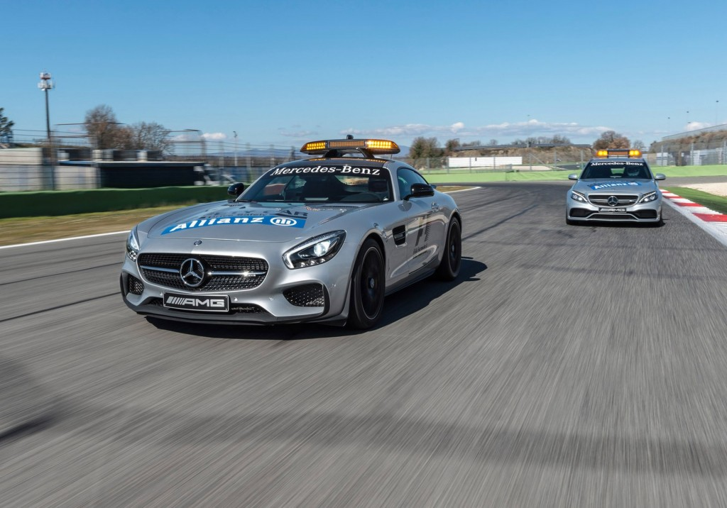 mercedes amg gt is the new f1 safety car. Black Bedroom Furniture Sets. Home Design Ideas