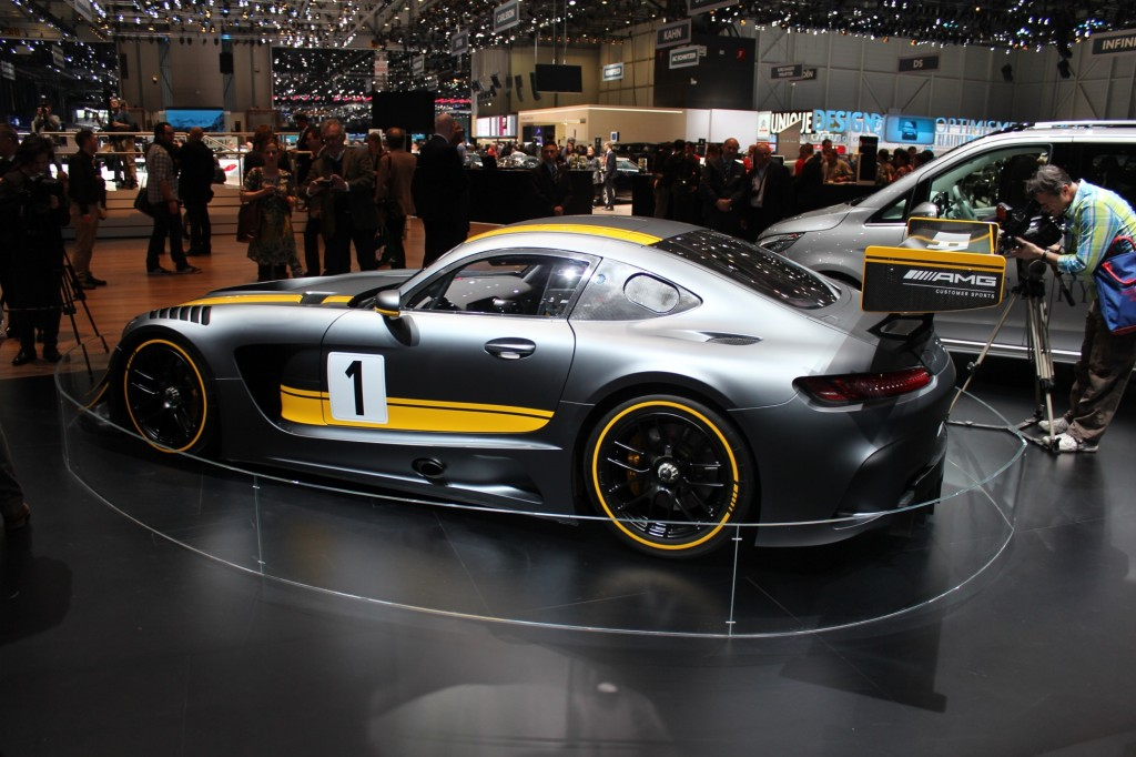 2016 mercedes amg gt3 race car live photos from geneva - Mercedes car show ...