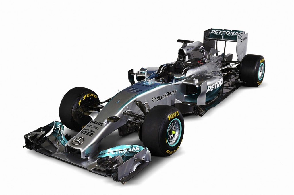 Mercedes expresses its love of electrified cars sticks a for Mercedes benz f1