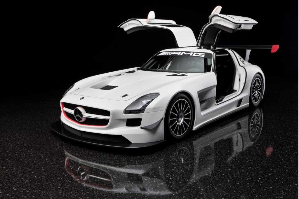 2011 mercedes benz sls amg gt3 priced from 430 190 for Mercedes benz race