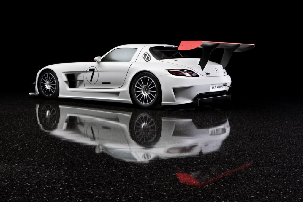 Mercedes benz sls amg gt3 race car for Mercedes benz race