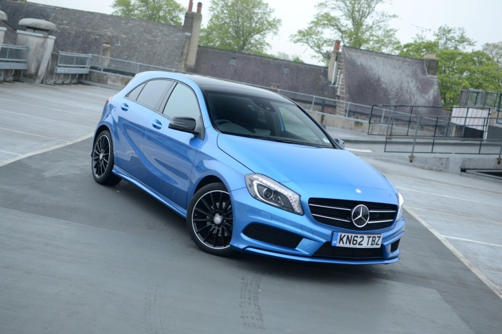 mercedes benz a class 200 cdi driven taster for diesel cla. Black Bedroom Furniture Sets. Home Design Ideas