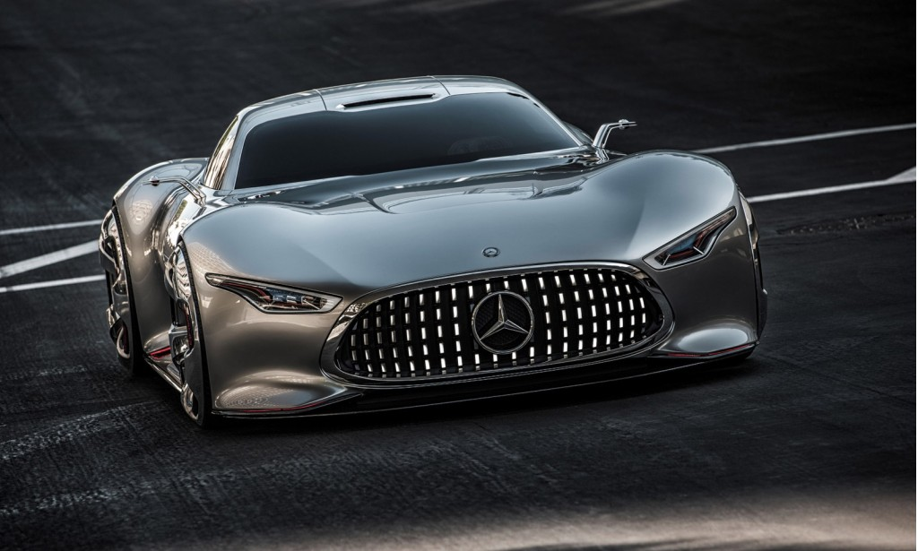 mercedes benz amg vision gran turismo concept live photos. Black Bedroom Furniture Sets. Home Design Ideas