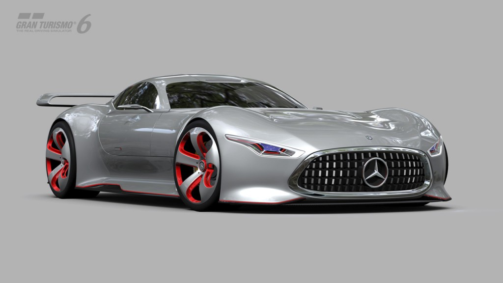 mercedes benz amg vision gran turismo racing series for gran turismo 6. Black Bedroom Furniture Sets. Home Design Ideas
