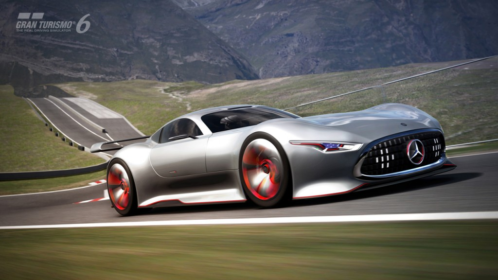 Mercedes benz amg vision gran turismo racing series for for Mercedes benz amg vision