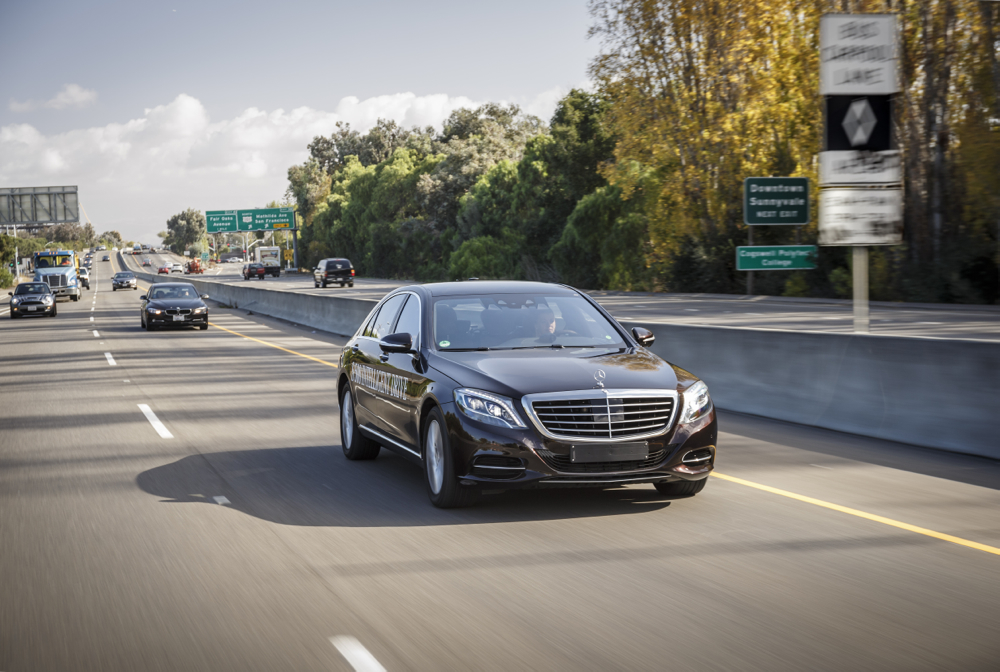 Mercedes benz shows how autonomous cars will revolutionize for Mercedes benz sunnyvale