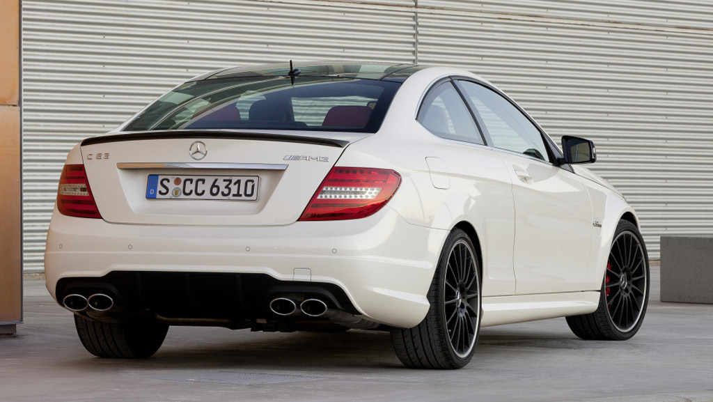 2012 mercedes benz c63 amg coupe preview. Black Bedroom Furniture Sets. Home Design Ideas