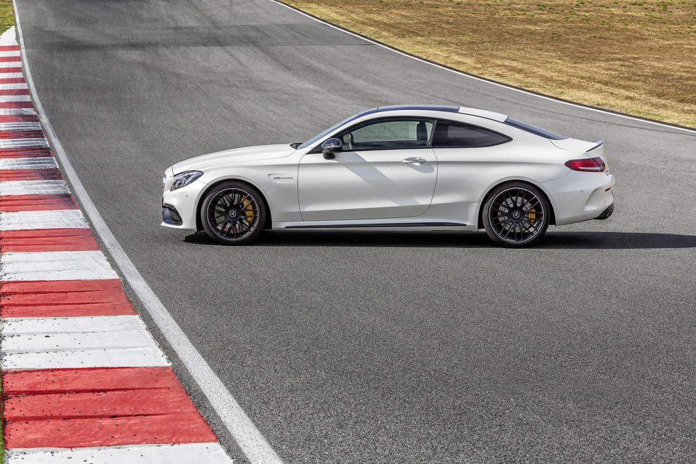 2017 mercedes amg c63 coupe details released ahead of frankfurt debut video. Black Bedroom Furniture Sets. Home Design Ideas