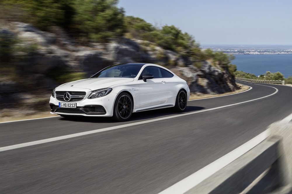 ... in the following articles: 2017 Mercedes-AMG C63 S Coupe First Drive