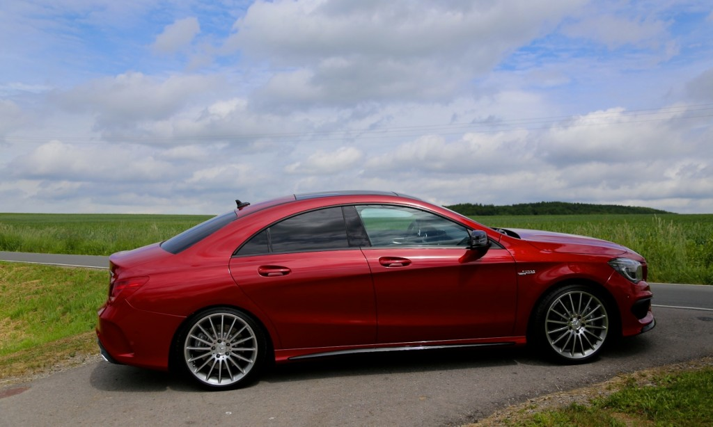 2014 Mercedes-Benz CLA 45 AMG: First Drive
