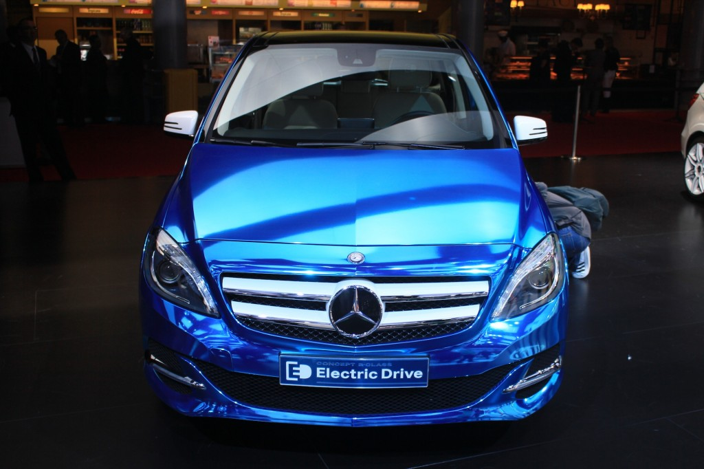 Mercedes benz b class electric coming to u s report for Mercedes benz b class bev