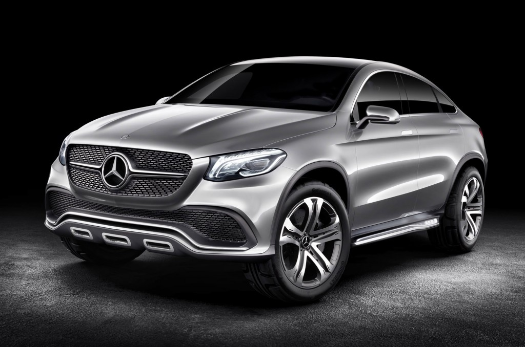 Mercedes copies bmw and will offer the same useless x6 with a mb badge