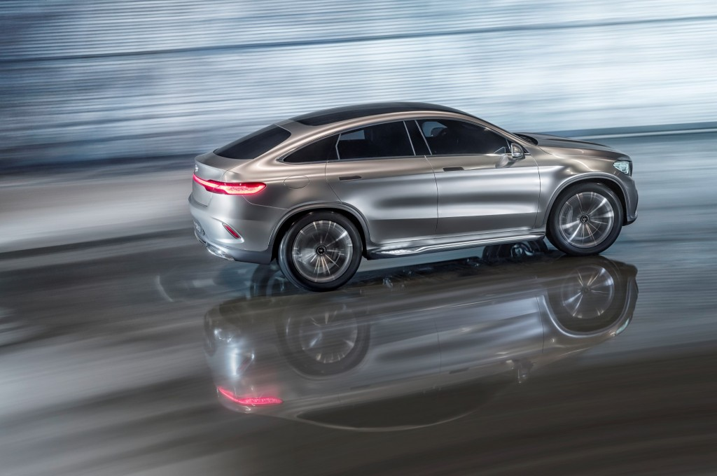 Mercedes benz concept coupe suv debuts at the 2014 beijing auto show - Mercedes benz concept coupe suv ...