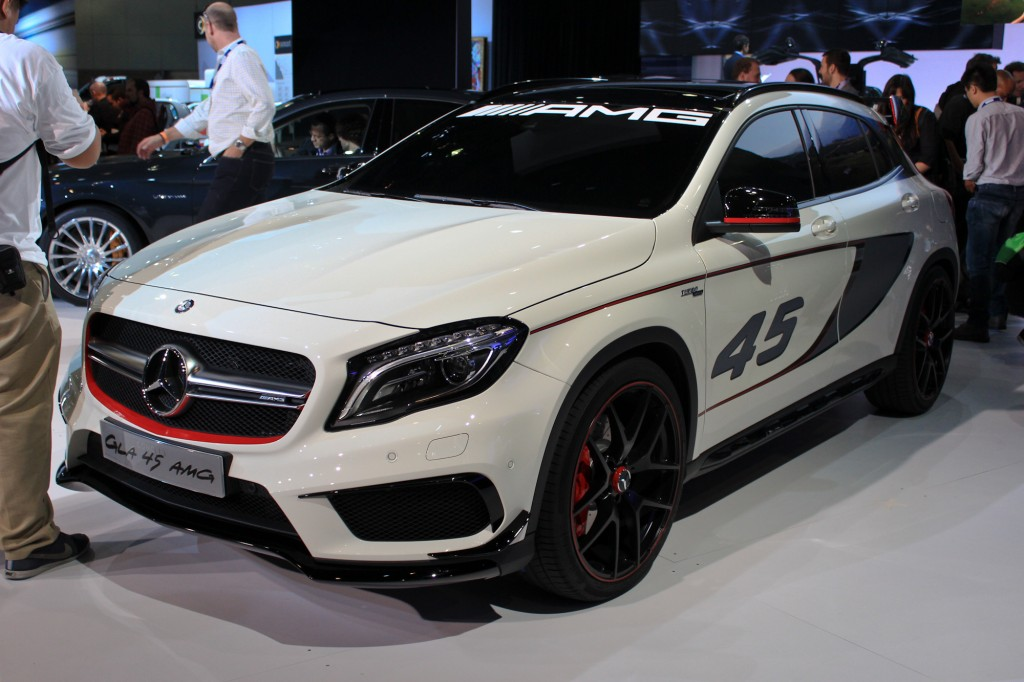 mercedes benz concept gla45 amg 2013 los angeles auto show. Cars Review. Best American Auto & Cars Review