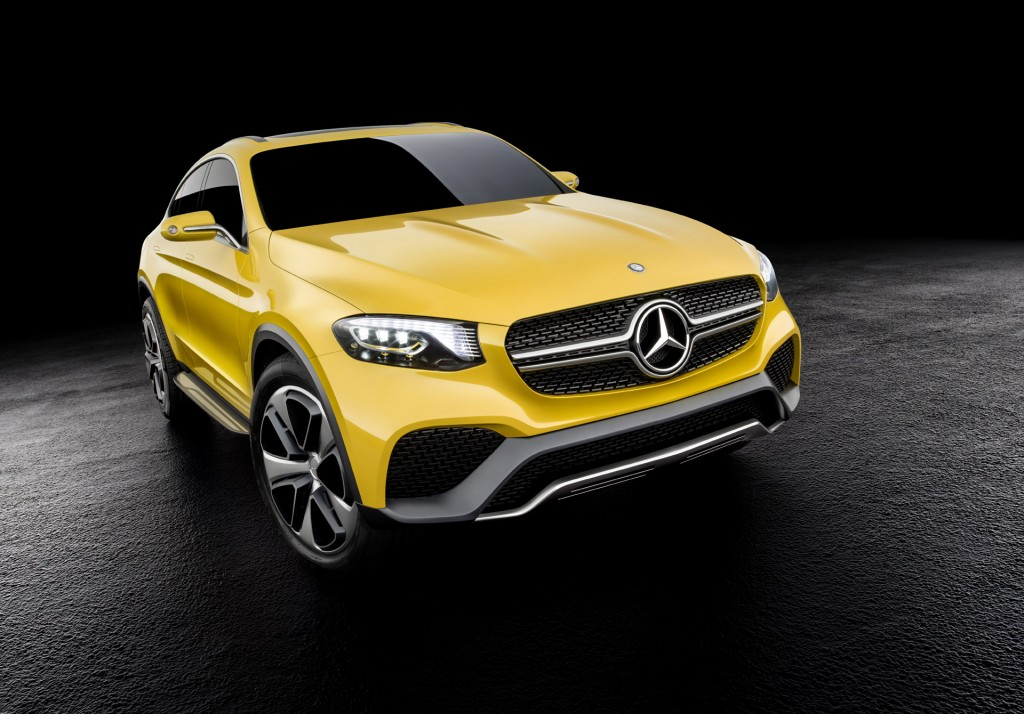 Bmw x4 rivaling mercedes glc coupe previewed by new concept for New concept mercedes benz