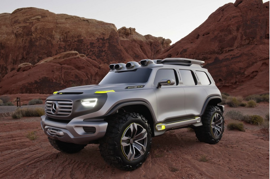 mercedes to debut ener g force off road concept in l a