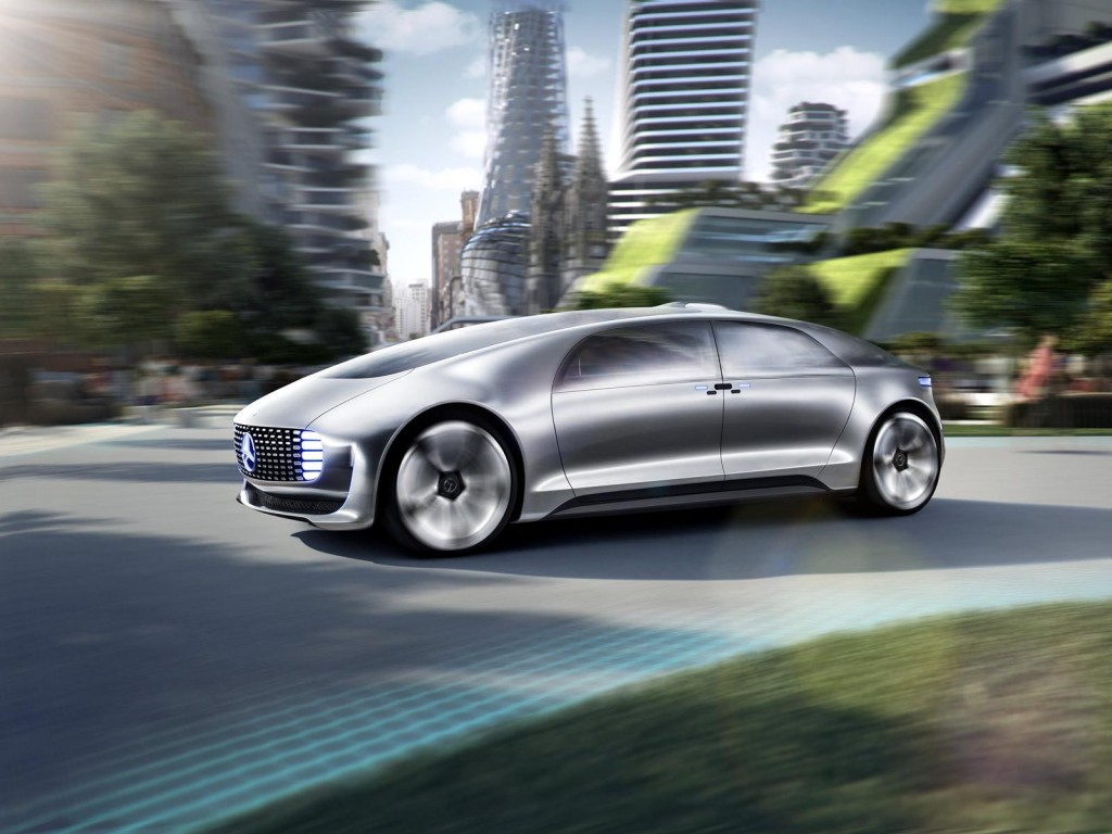 The future arrives early with mercedes benz f015 for Mercedes benz upcoming models