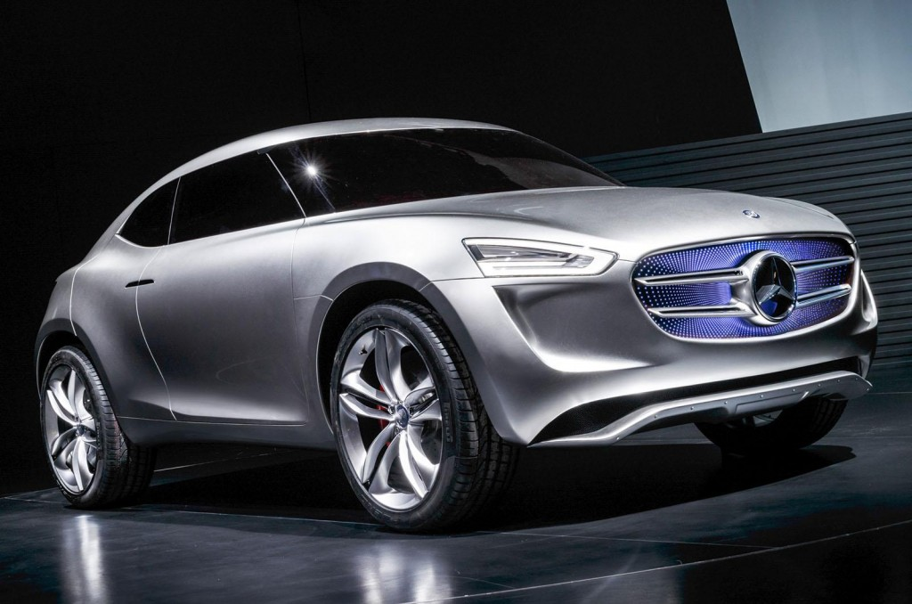 Mercedes benz reveals g code subcompact crossover concept for Mercedes benz com connect