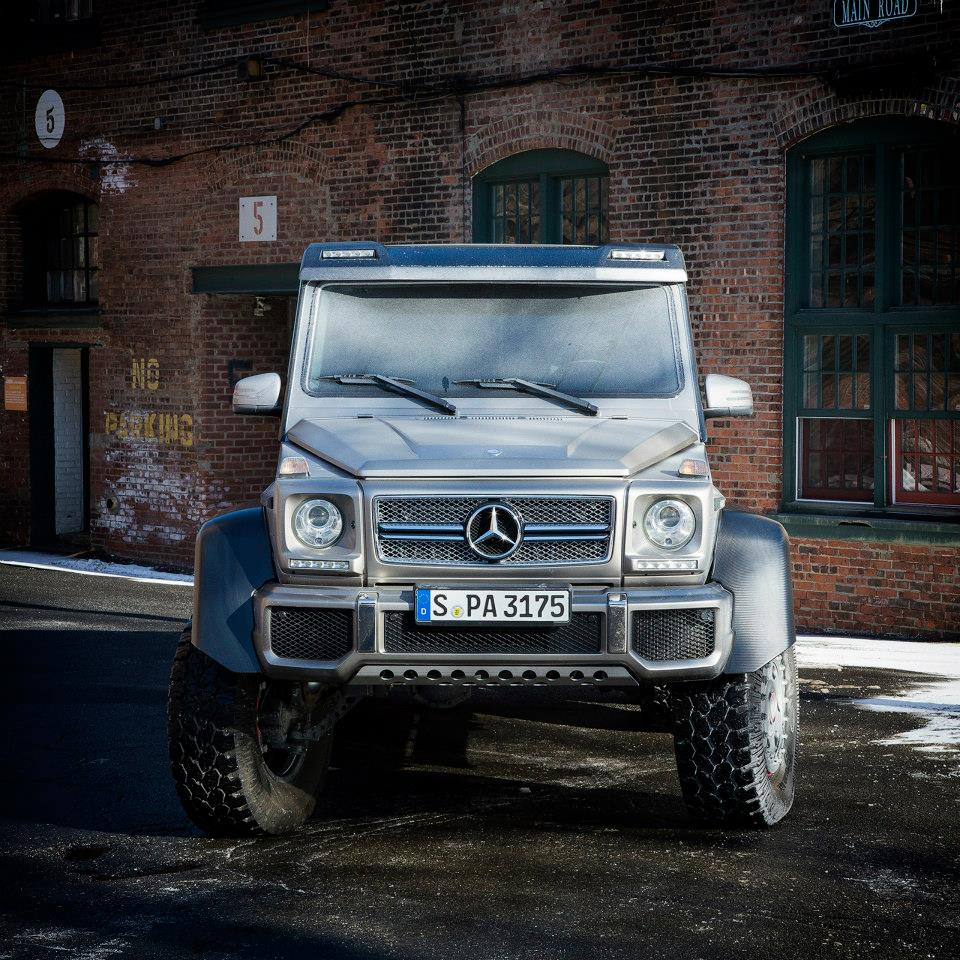 Mercedes benz brings g63 amg 6x6 to the northeast for G63 mercedes benz