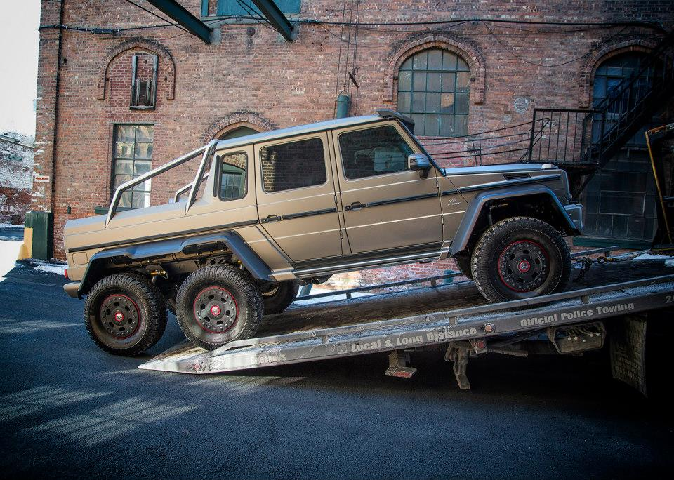Mercedes Benz Brings G63 Amg 6x6 To The Northeast