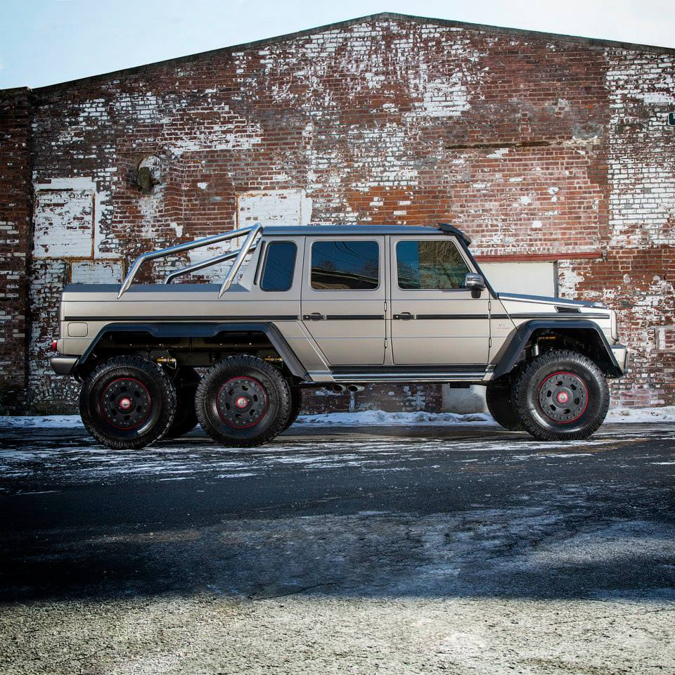 Amg 6x6 usa for sale autos post for Mercedes benz g63 amg for sale