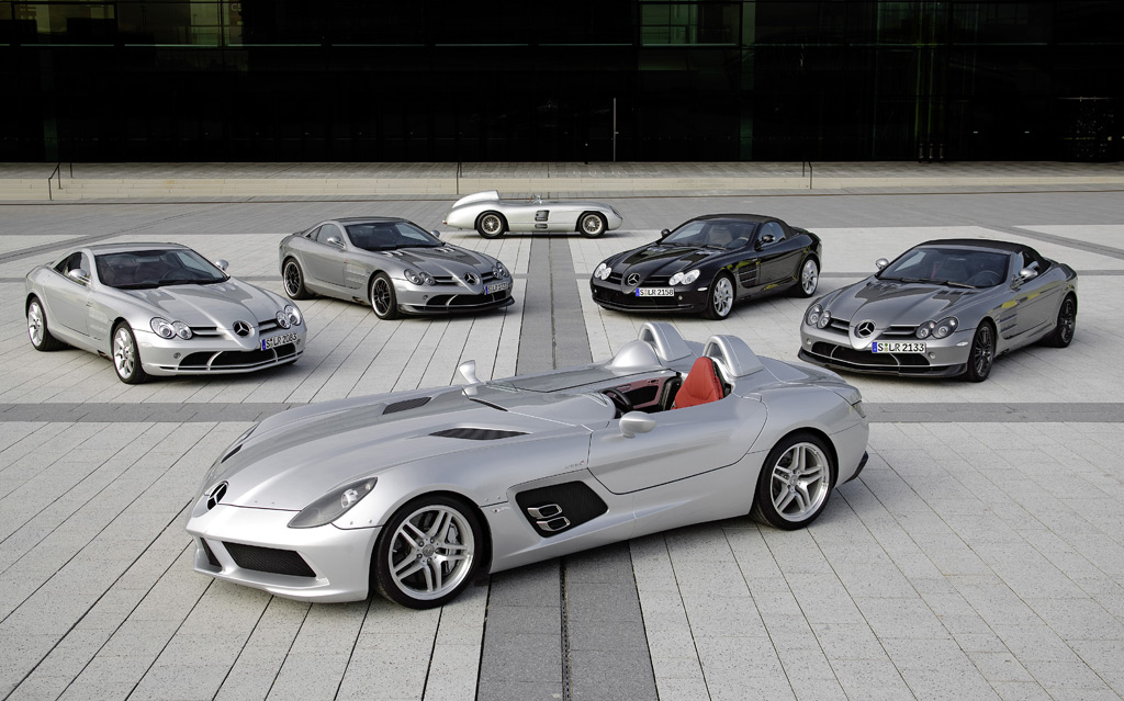Mercedes Benz And Mclaren Building The Last Of The Slr