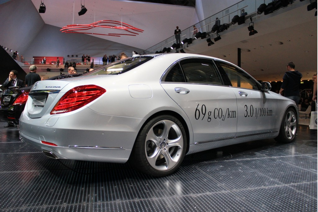 2015 mercedes benz s500 plug in hybrid 2013 frankfurt for Mercedes benz frankfurt
