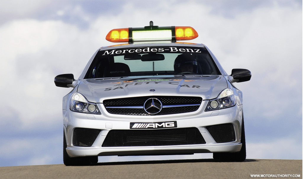 Chevy Volt Lease Deals >> Image: mercedes benz sl63 amg official 2009 f1 safety car 003, size: 1024 x 605, type: gif ...