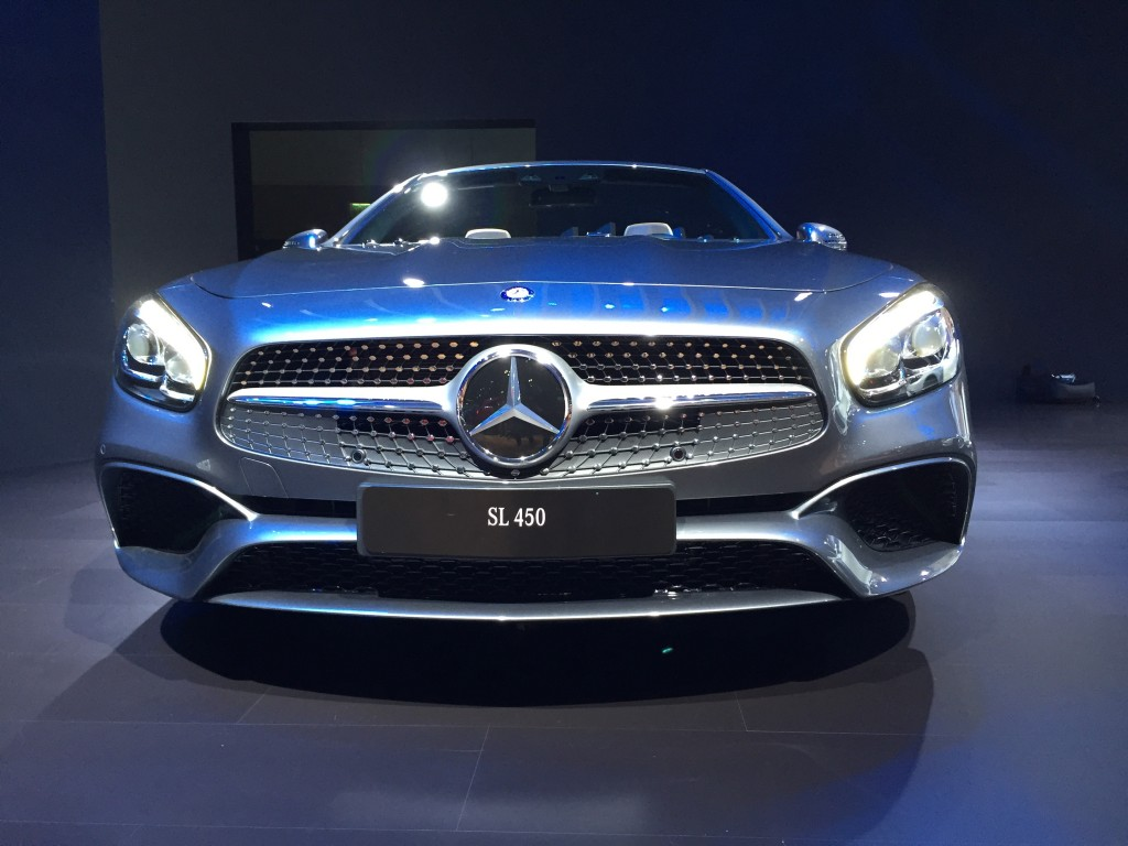 image 2017 mercedes benz sl450 2015 los angeles auto show size. Cars Review. Best American Auto & Cars Review