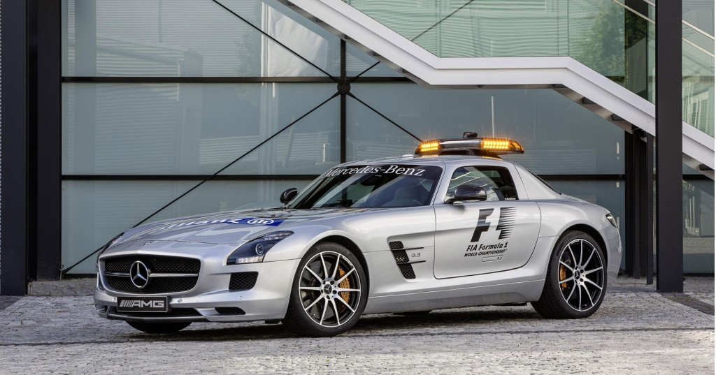 F1 safety car gets upgraded to mercedes benz sls amg gt for Mercedes benz safety