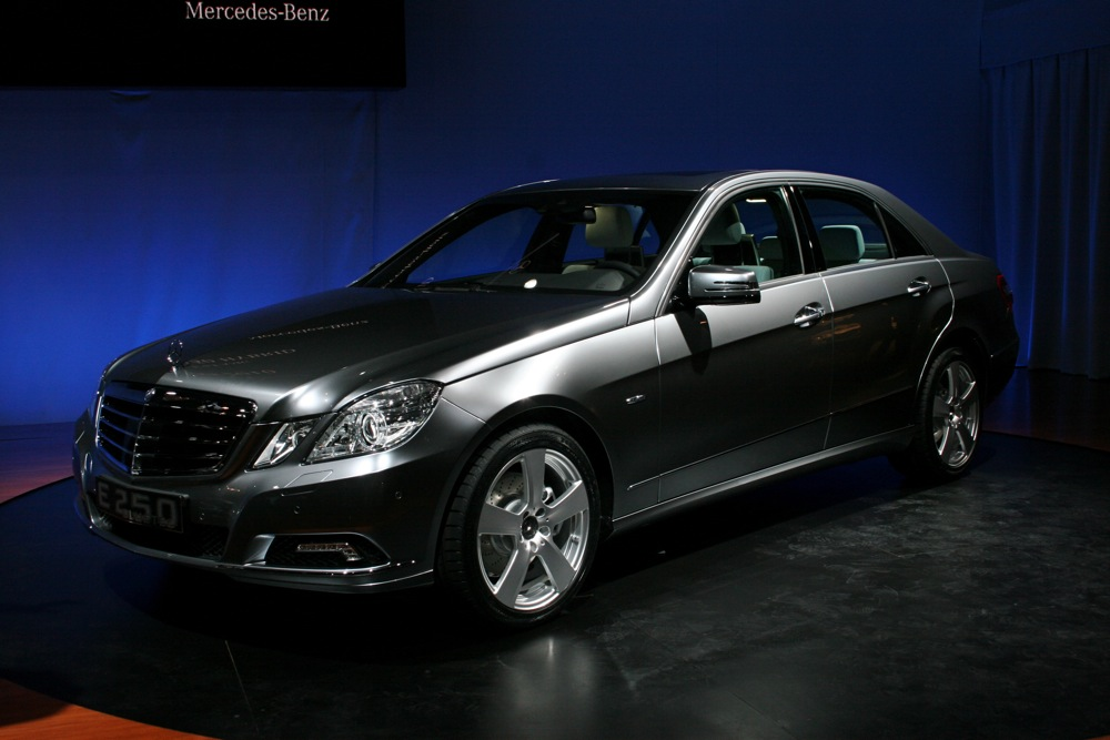 2009 New York Auto Show 2011 Mercedes Benz E250 Bluetec