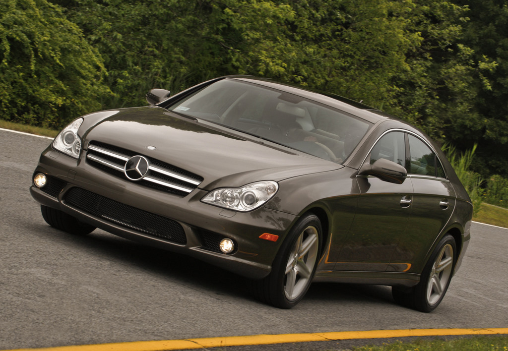 2010 mercedes benz cls class review ratings specs prices and photos the car connection. Black Bedroom Furniture Sets. Home Design Ideas