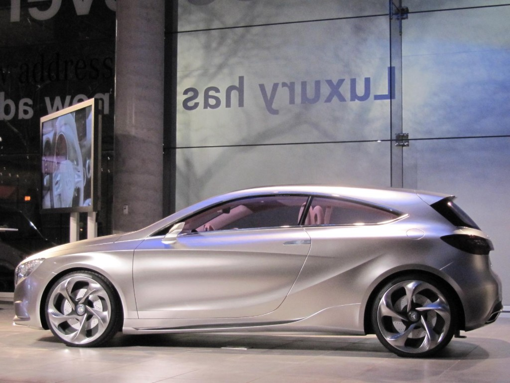 mercedes benz manhattan new showroom mercedes benz concept a class at. Cars Review. Best American Auto & Cars Review