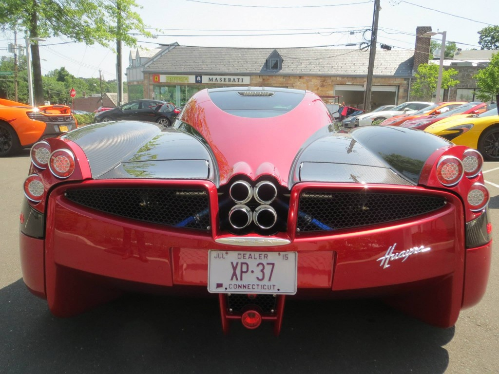 One Of The First Pagani Huayras Delivered In The U S