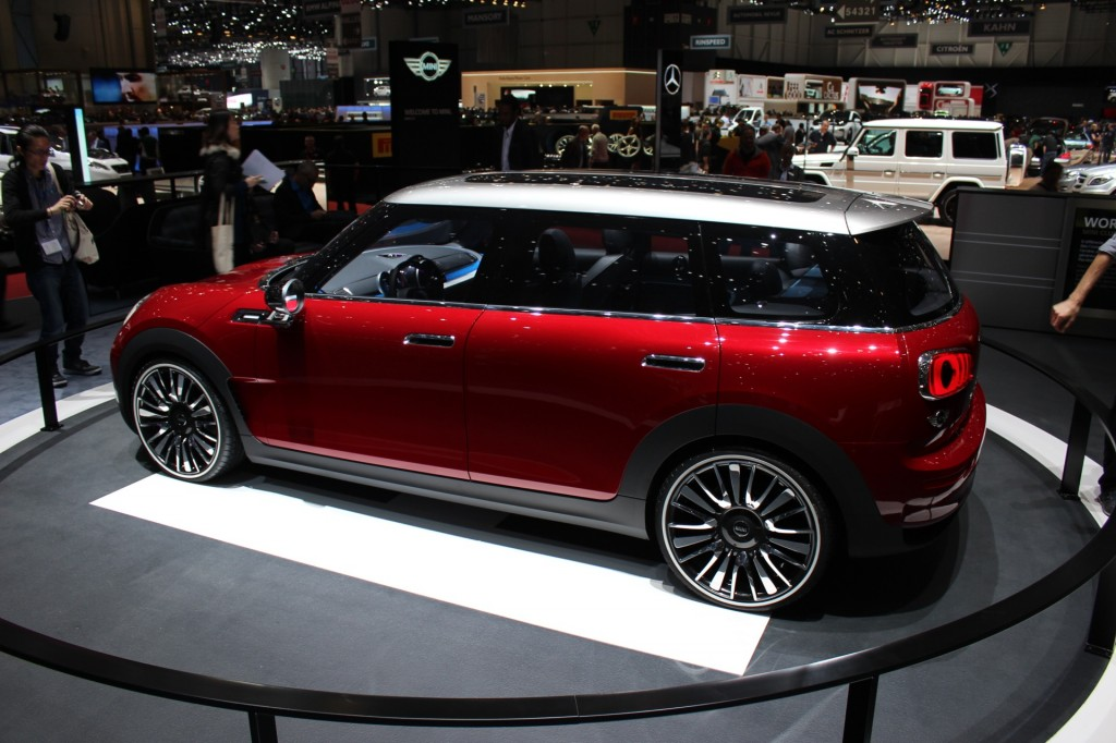 image mini clubman concept 2014 geneva motor show live photos size 1024 x 682 type gif. Black Bedroom Furniture Sets. Home Design Ideas
