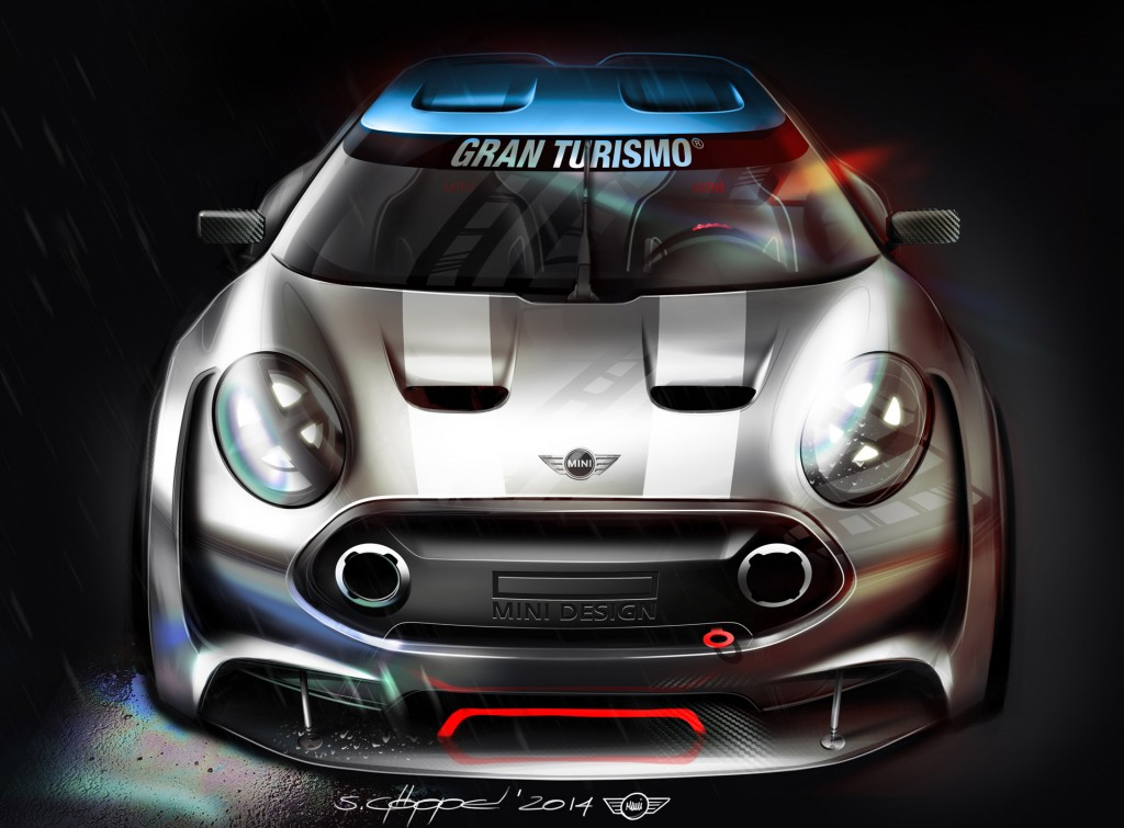 2016 mini clubman previewed with vision gran turismo concept video. Black Bedroom Furniture Sets. Home Design Ideas