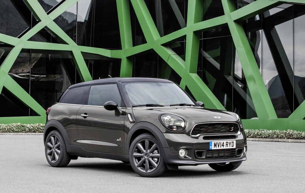 2015 mini paceman rolled out at 2014 beijing auto show. Black Bedroom Furniture Sets. Home Design Ideas