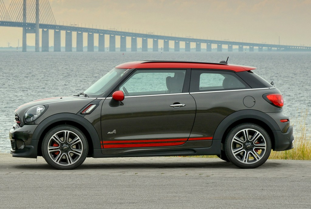 2015 mini john cooper works countryman and paceman revealed. Black Bedroom Furniture Sets. Home Design Ideas