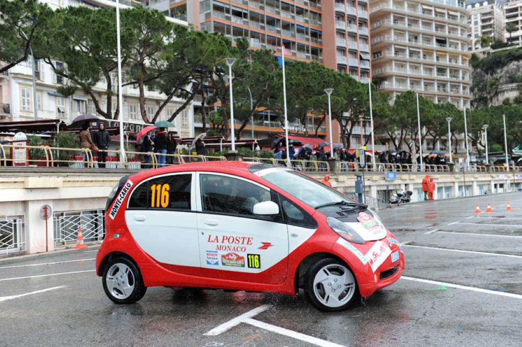 image mitsubishi i miev on the zenn rally image automobile club de monaco size 1024 x 681. Black Bedroom Furniture Sets. Home Design Ideas