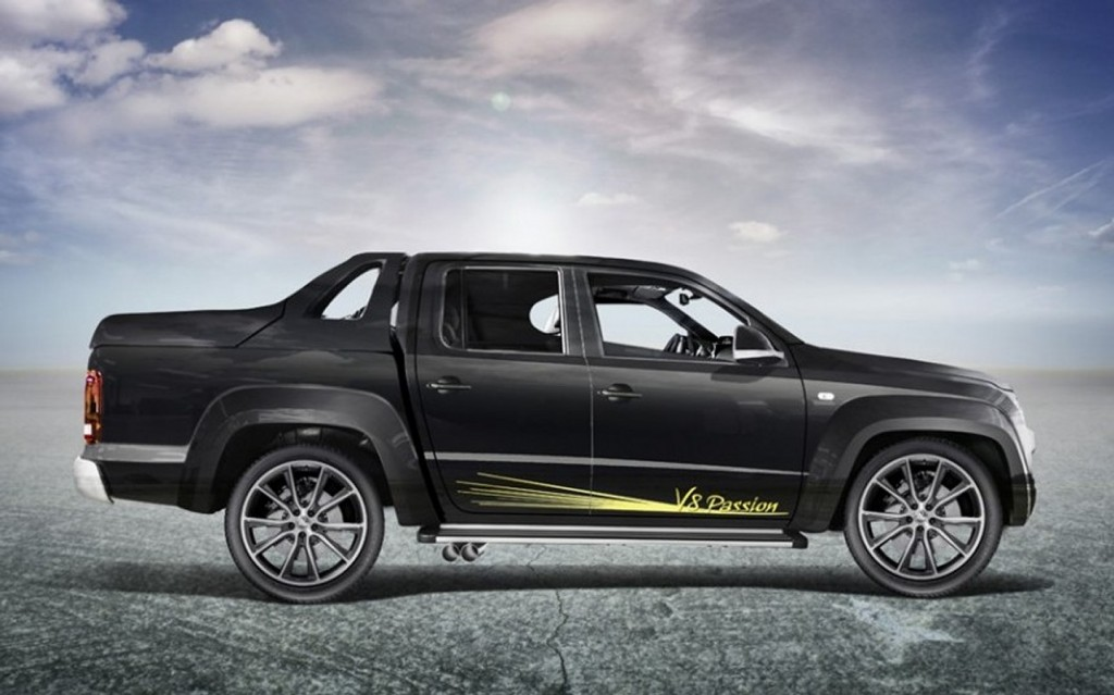 Vw Amarok Pickup Gets Tuner Treatment Turns Into