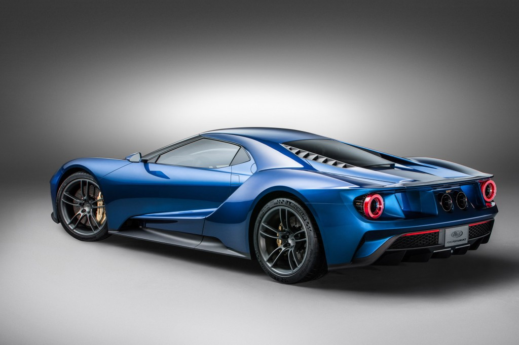 Ford Gt Supercar Coming With Carbon Fiber Wheels Report