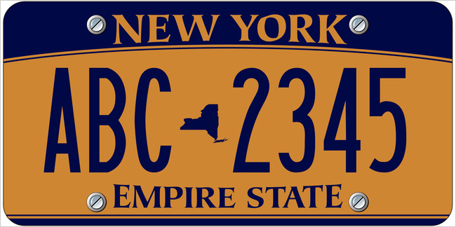 New License Plate Design To Be Issued By New York State In