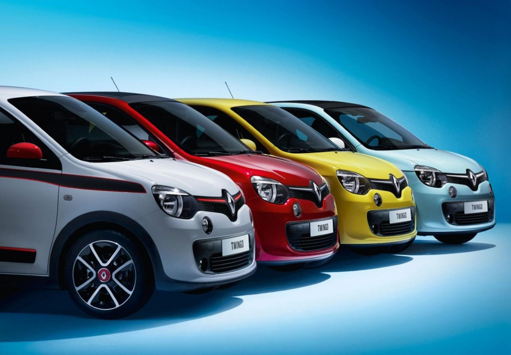 New Renault Twingo Previews Next Smart ForTwo