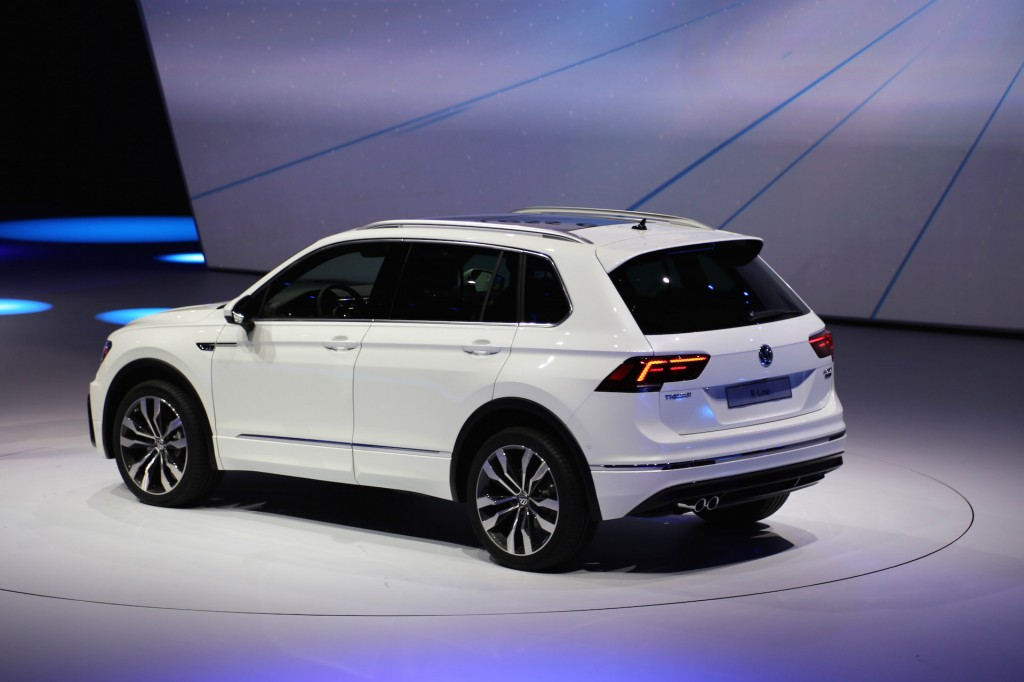 vw shows off a redesigned tiguan at frankfurt clublexus lexus forum discussion