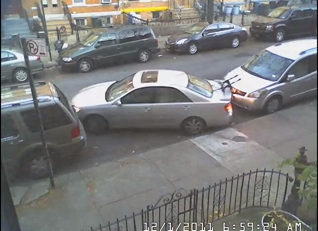 Parallel parking with a jeep
