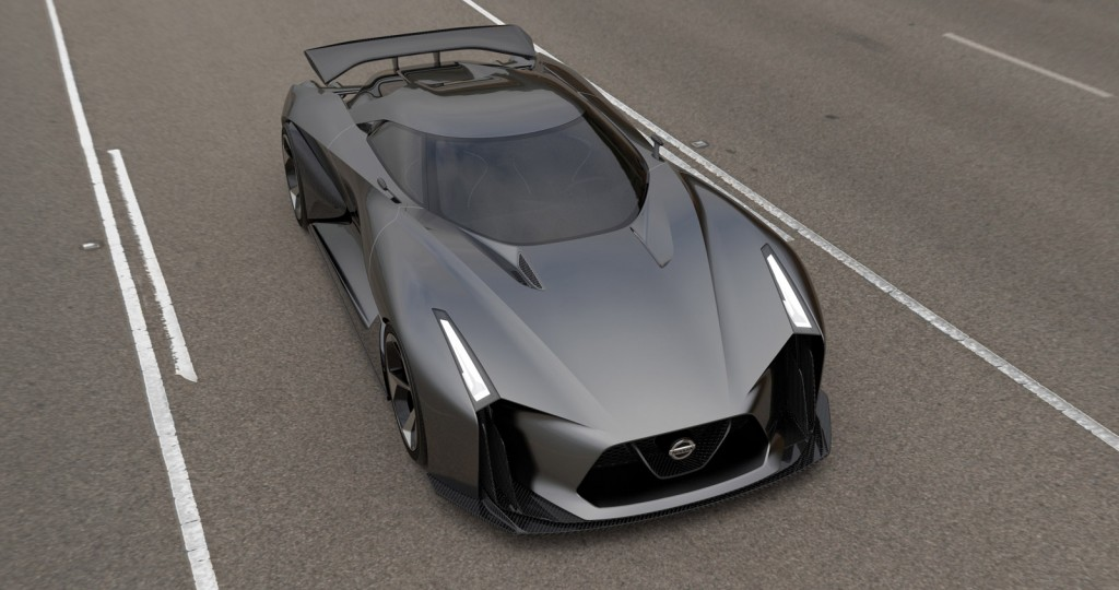 nissan concept 2020 vision gran turismo revealed  likely hints at r36 gt