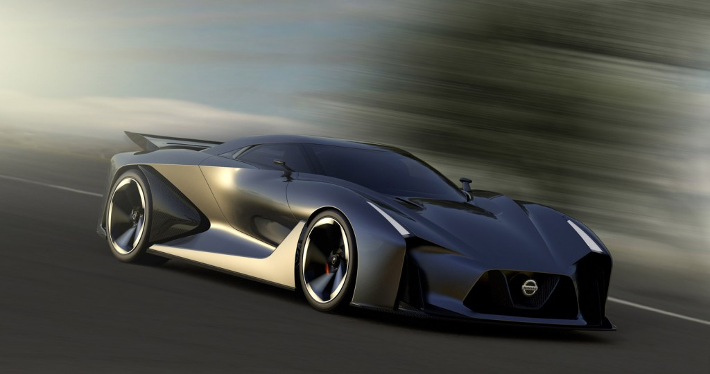 Live Photos And Video Of Nissan's Concept 2020 Vision