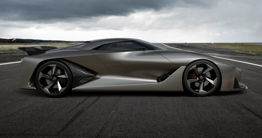 Live Photos And Video Of Nissan S Concept 2020 Vision