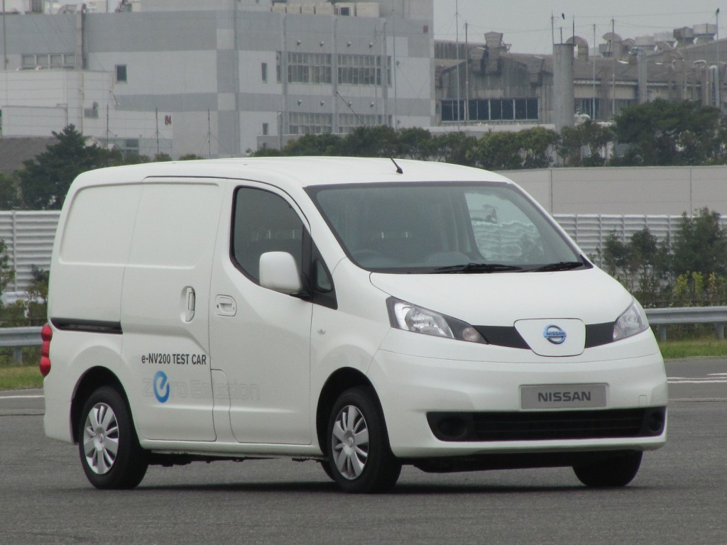 Nissan E Nv200 Electric Van Battery Adds Thermal Conditioning