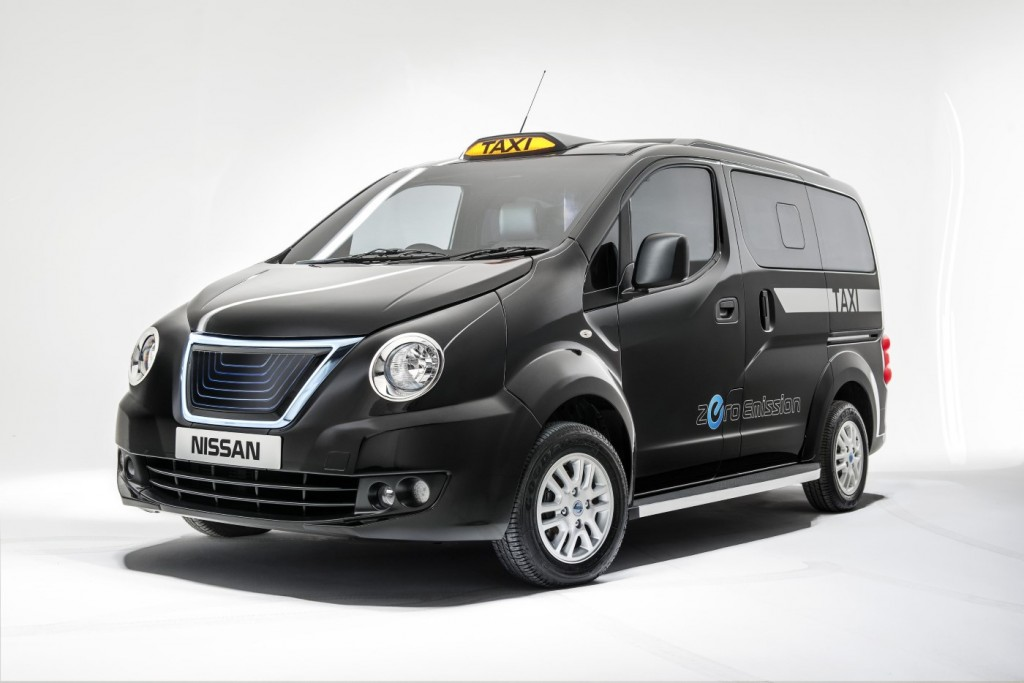 Nissan E Nv200 Electric London Taxi Revealed Arrives 2015